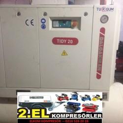 2 el dalgakıran vidalı kompresor