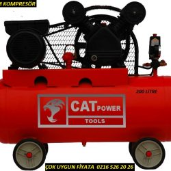 cat power 200 litre kompresör