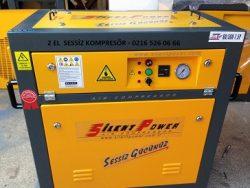 oil fre compressor silent