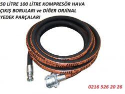 50 litre kompresor borusu